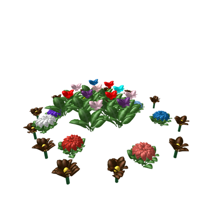 Flower patch png. Roblox