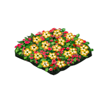 Flower patch png. Image marketplace yellow icon