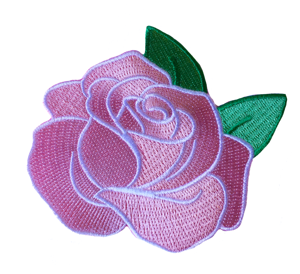Flower patch png. Pink rose miette