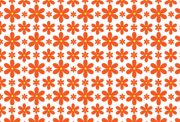 Flower pattern png. How to create a
