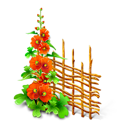Flower plant png. Icon
