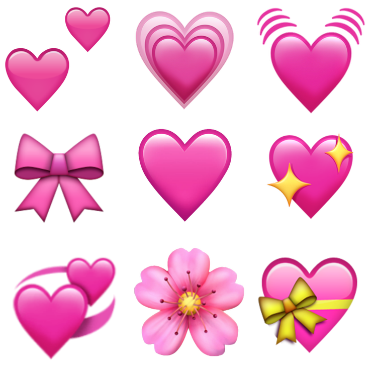 Flower png pack. Heart bow on we