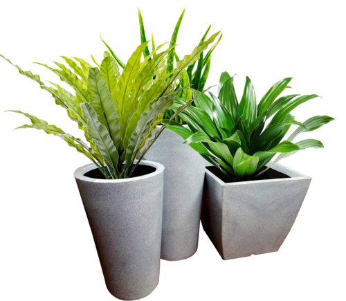 Flower pots png. All weather planters at