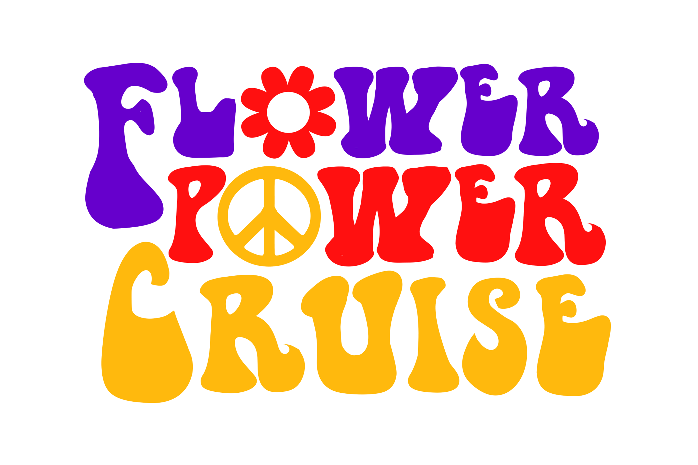 Flower power png. Cruise wind fm