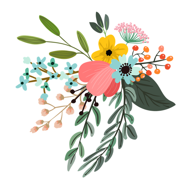 Flower print png. Download files how to