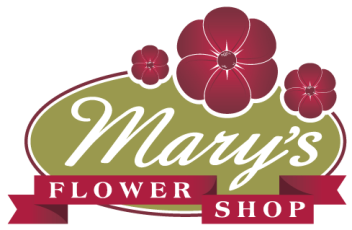 Flower shop logo png. Mary s local florist