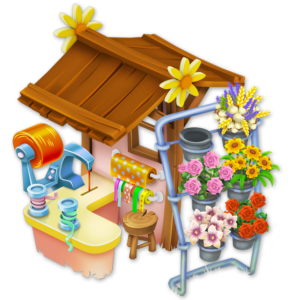 Flower shop png. Image hay day wiki
