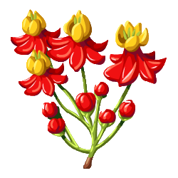 Flower sprite png. Image blood here be