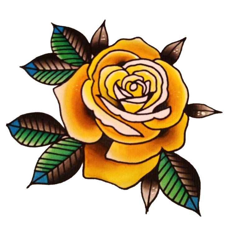 Rose tattoo png. Download flower picture hq