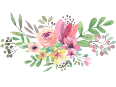 Flower vector png. Watercolor flowers clipart psd