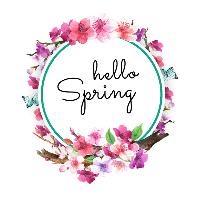 Watercolor flowers png free. Spring wreaths leaf and