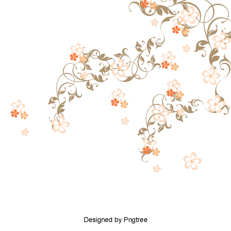 Flowers background png. Romantic pink and psd