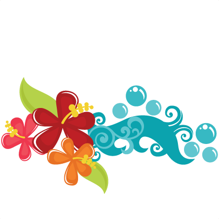 Flowers clipart beach. Tropical pinterest svg file