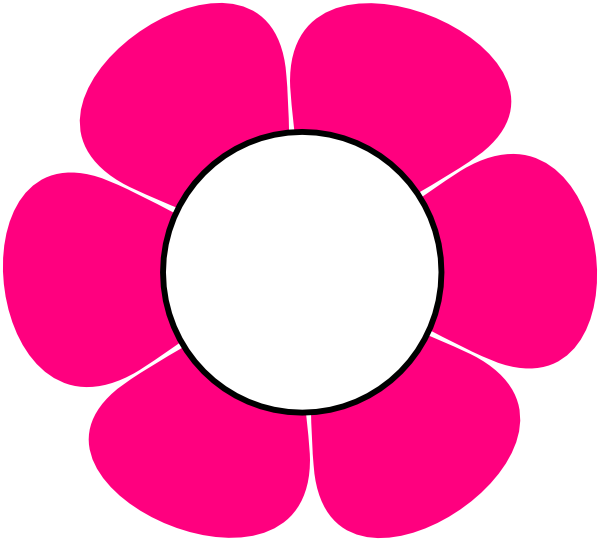 Pink flower vector png. Cute cliparts free download