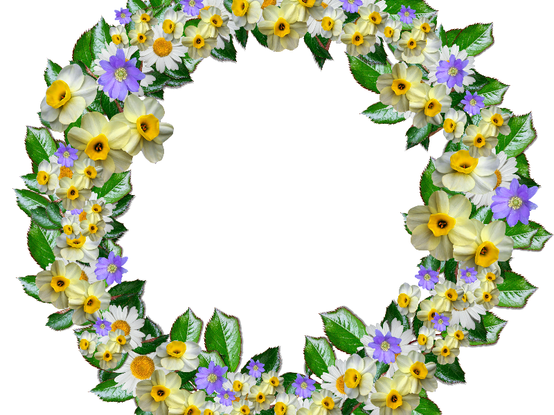 Flower lei png. Real crown clipart free