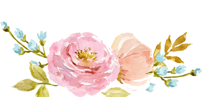 Watercolor flowers png. Transparent peoplepng com