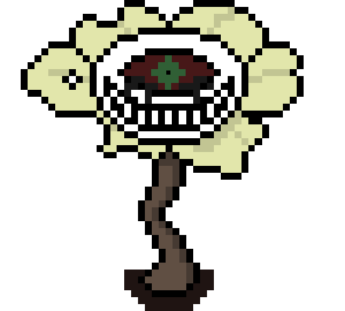 Flowey sprite png. Axe axetale au by