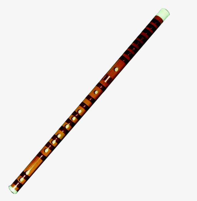 Flute clipart bamboo flute. High definition material png