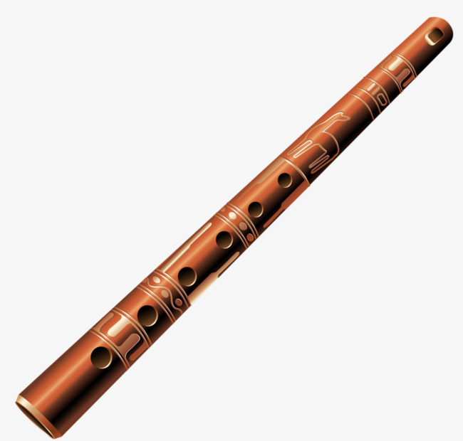 Flute clipart bamboo flute. Holes music png image