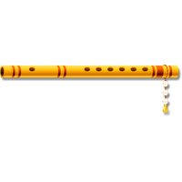 Flute clipart bansi. Download free png photo