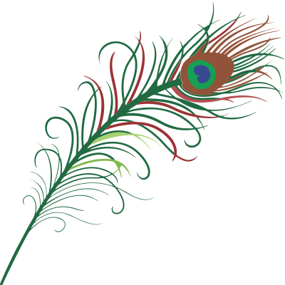 Flutes clipart mor pankh. Download peacock feather free