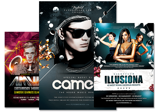 flyer party png