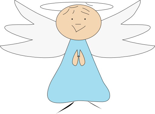 Flying angels png. Angel clipart i royalty