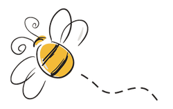 Bees transparent flying. Bee png images in