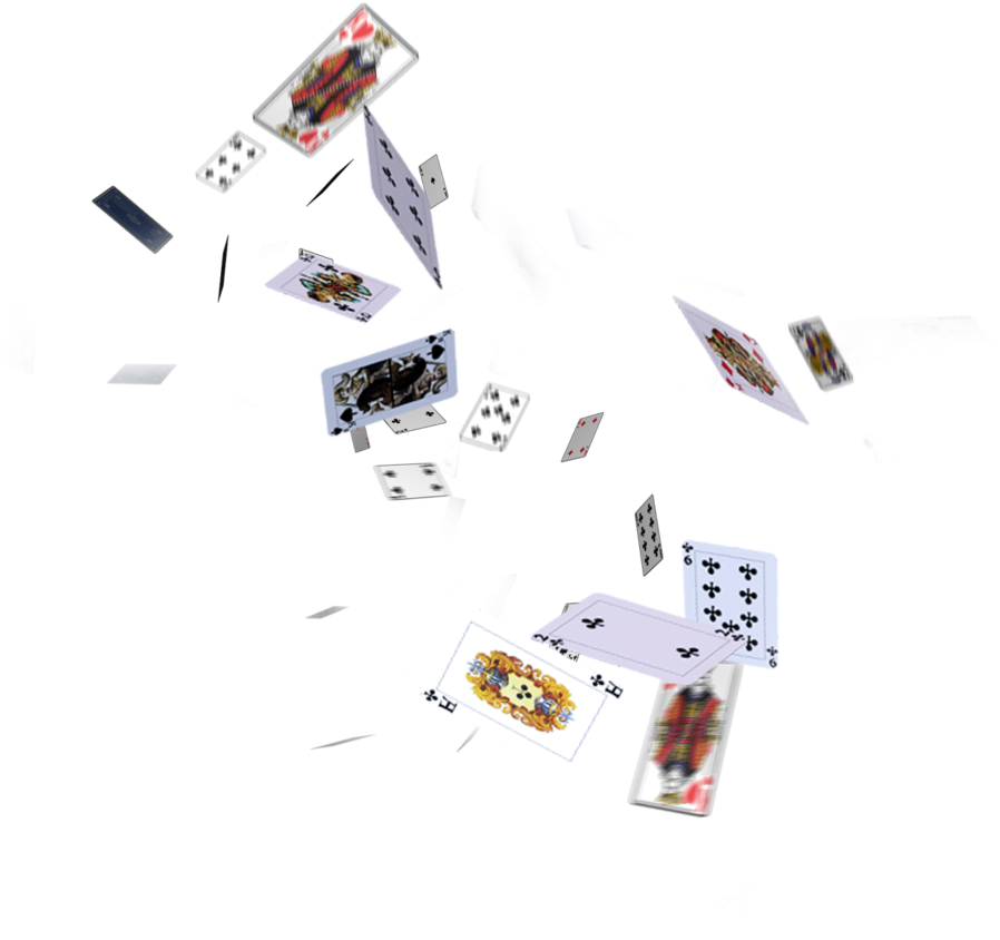 Hd flying cards png. Download for picsart editing