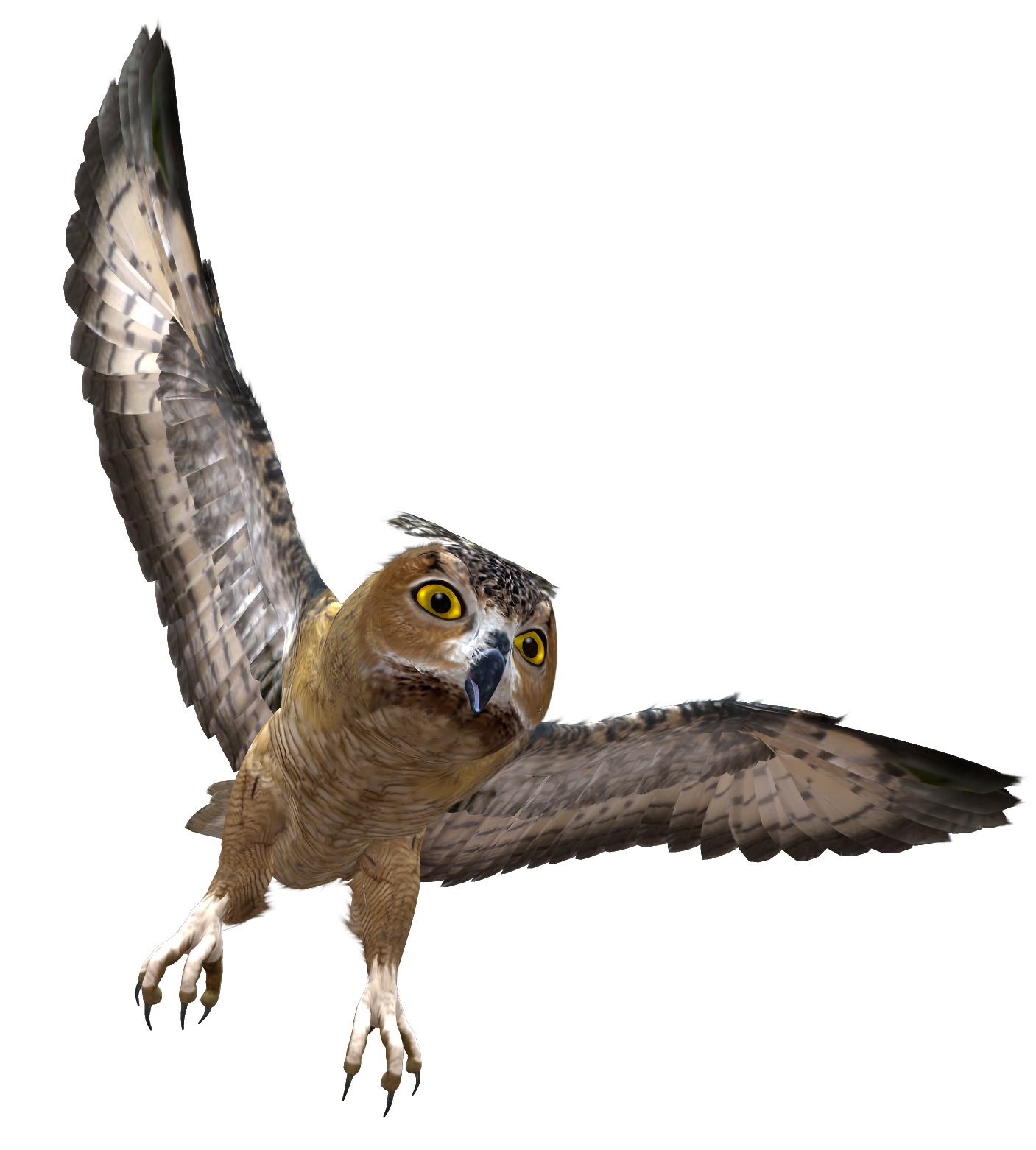 Flying owl png. In flight clipart gallery