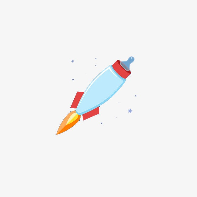 Flying rocket. Clipart o png images