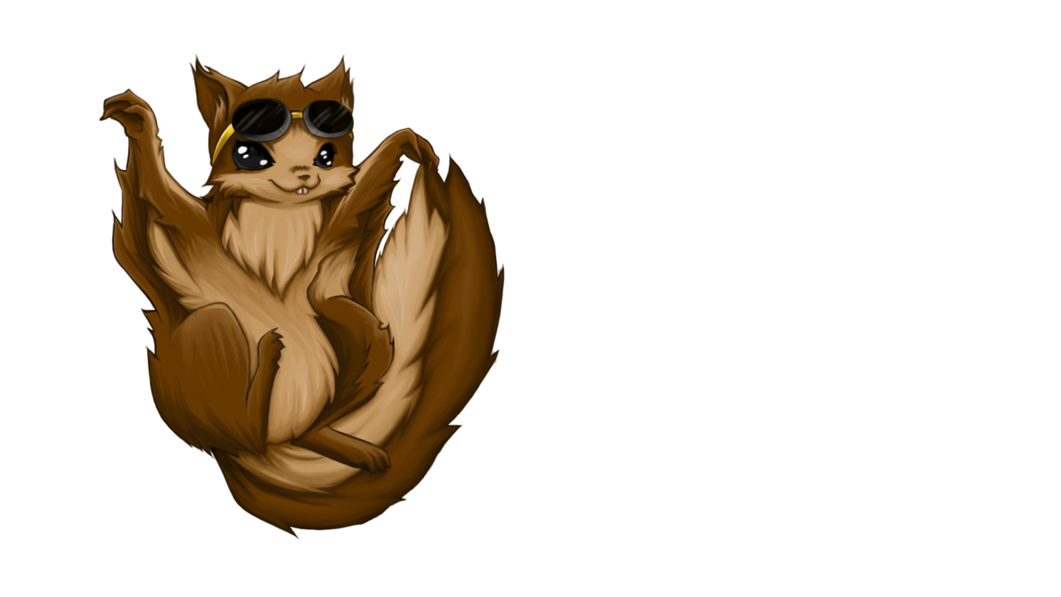 Flying squirrel png. Jack the by naetendo