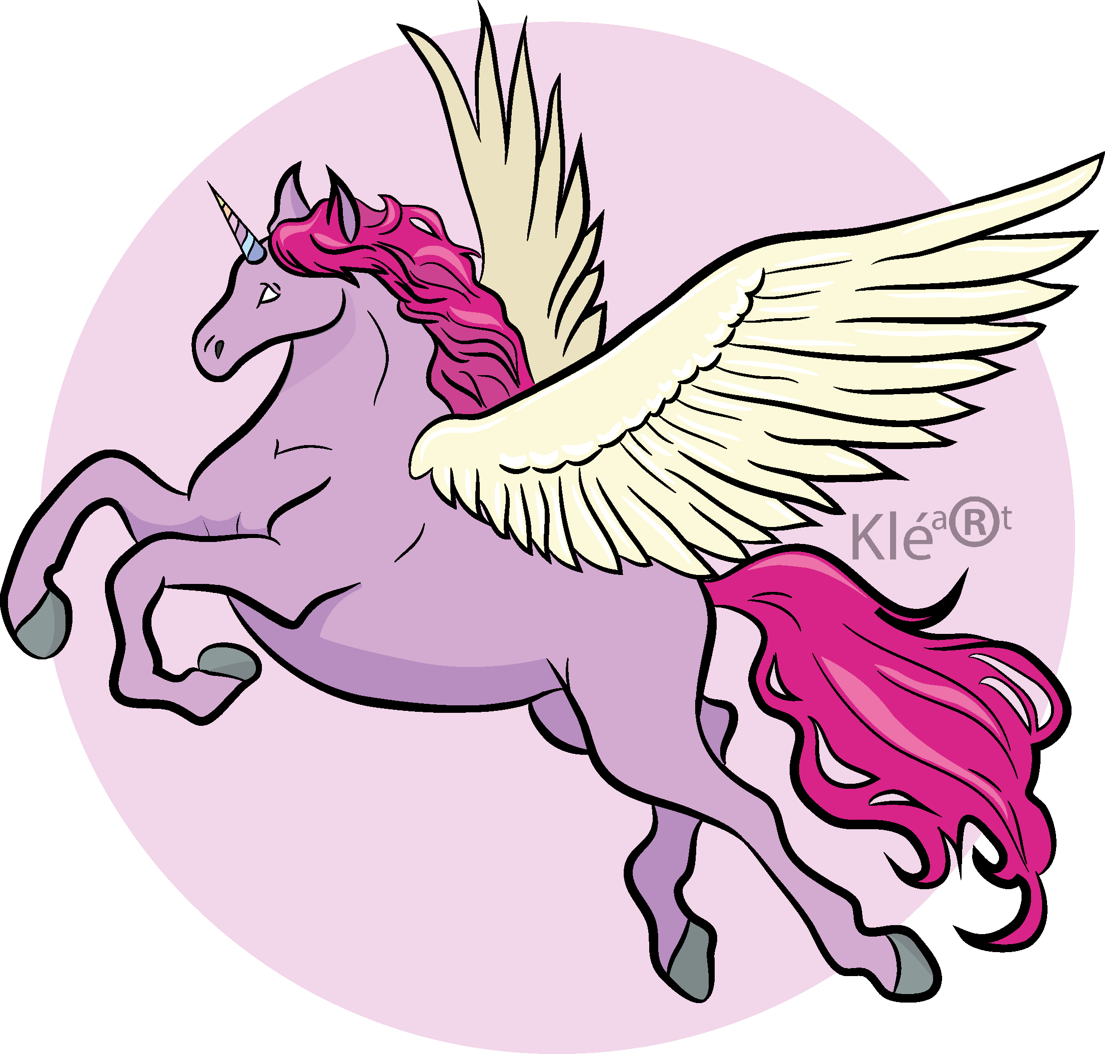 Drawing medium unicorn. Flying at getdrawings com