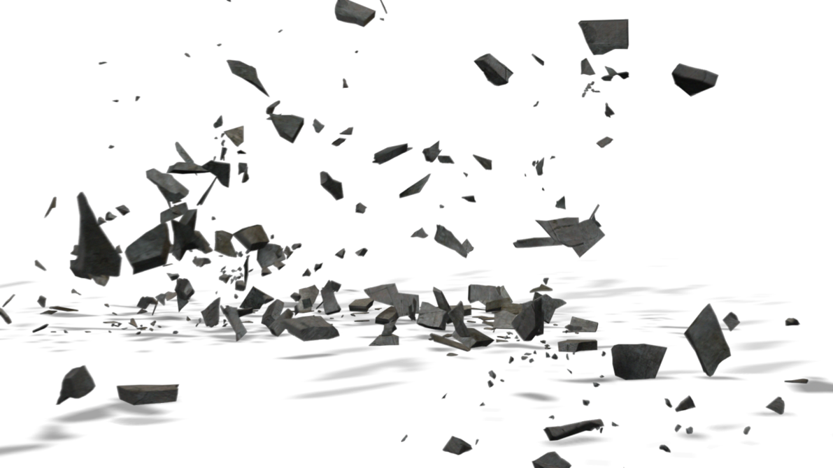 Flying dirt png. Cement collapse by ashrafcrew