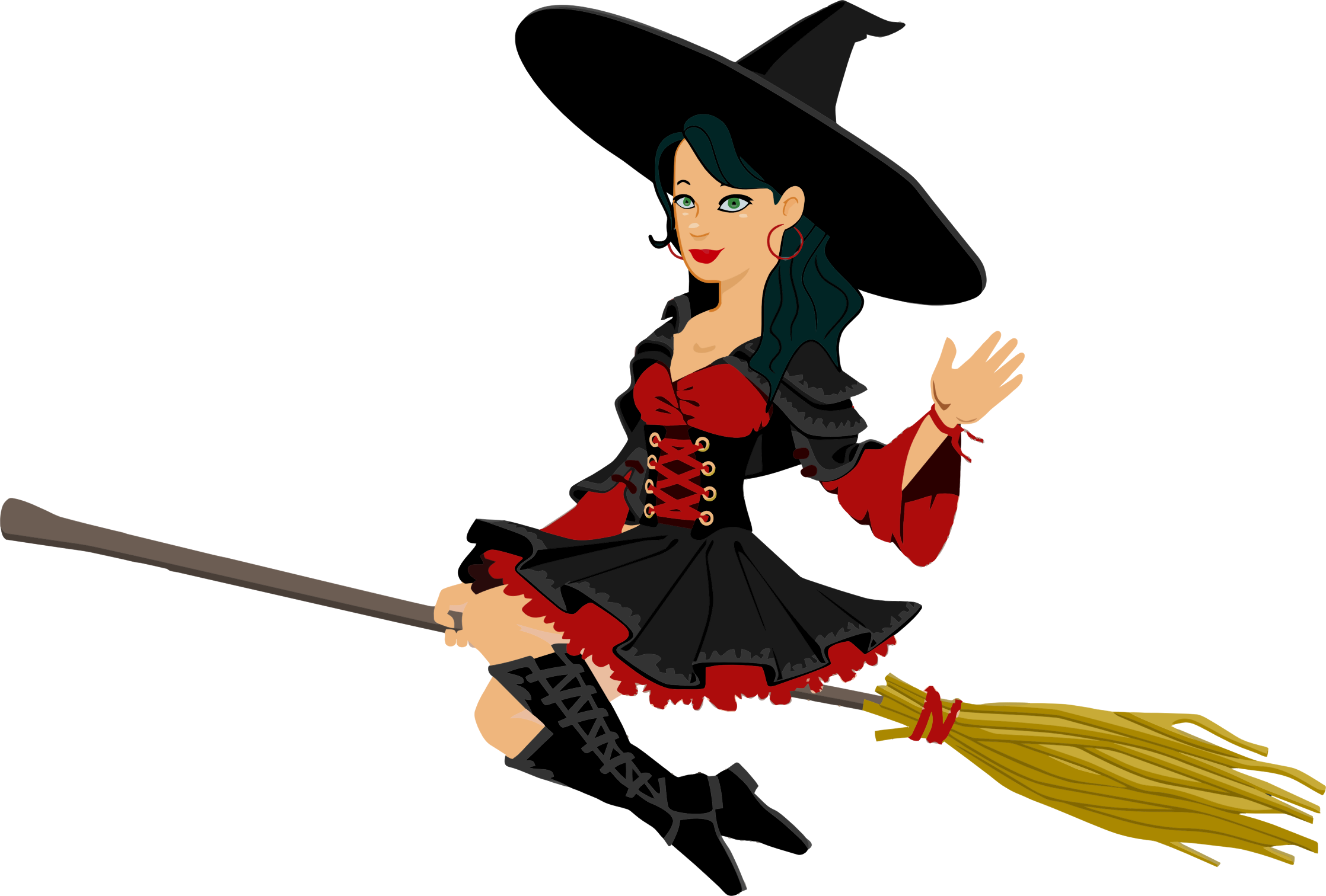Drawing witch