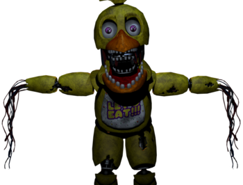 Transparent fnaf animatronic. Chica five nights at