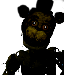 Fnaf 3 png. Halloween edition edits by