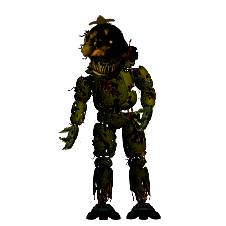 Fnaf 4 chica png. Nightmare full body by