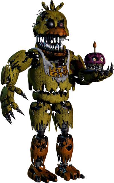 Fnaf 4 chica png. Five nights at freddy