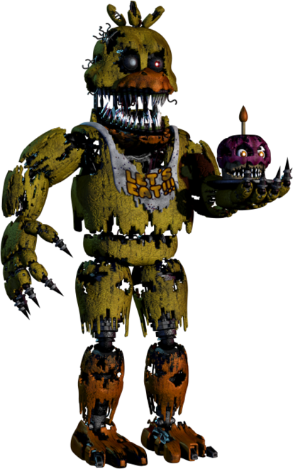 Fnaf 4 chica png. Full body photo of
