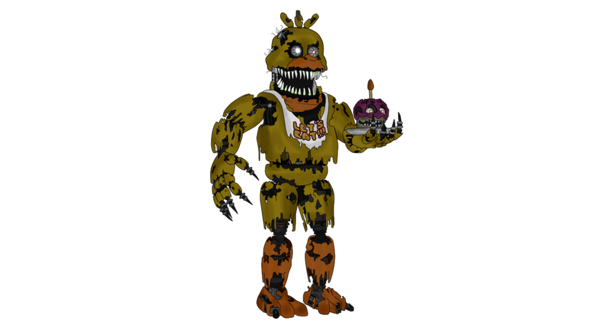 Fnaf 4 chica png. Nightmare five nights at
