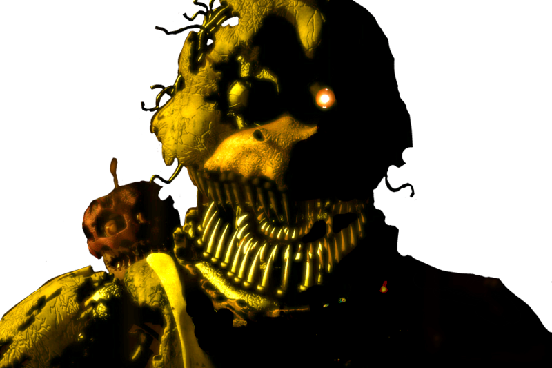 Fnaf 4 chica png. Nightmare by thesitcixd on