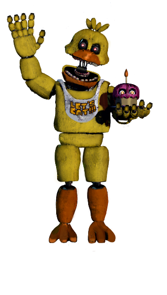 Fnaf 4 chica png. Image unnightmare five nights