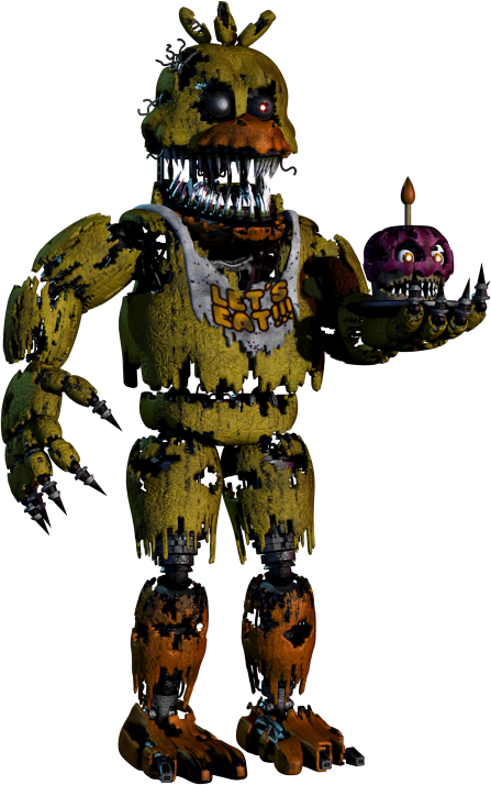 Fnaf 4 chica png. Image nightmare five nights