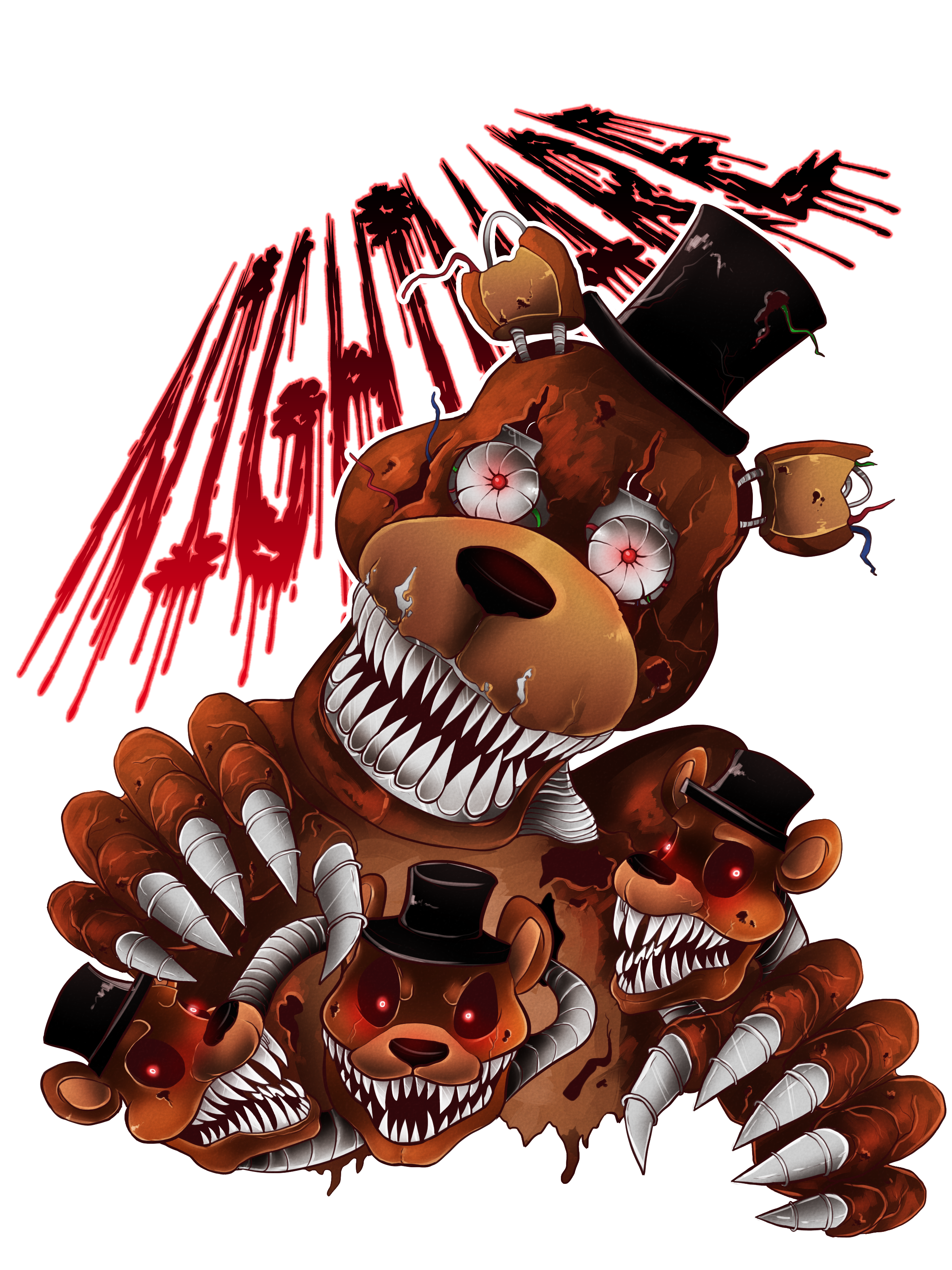 Fnaf 4 freddy png. Five nights at s
