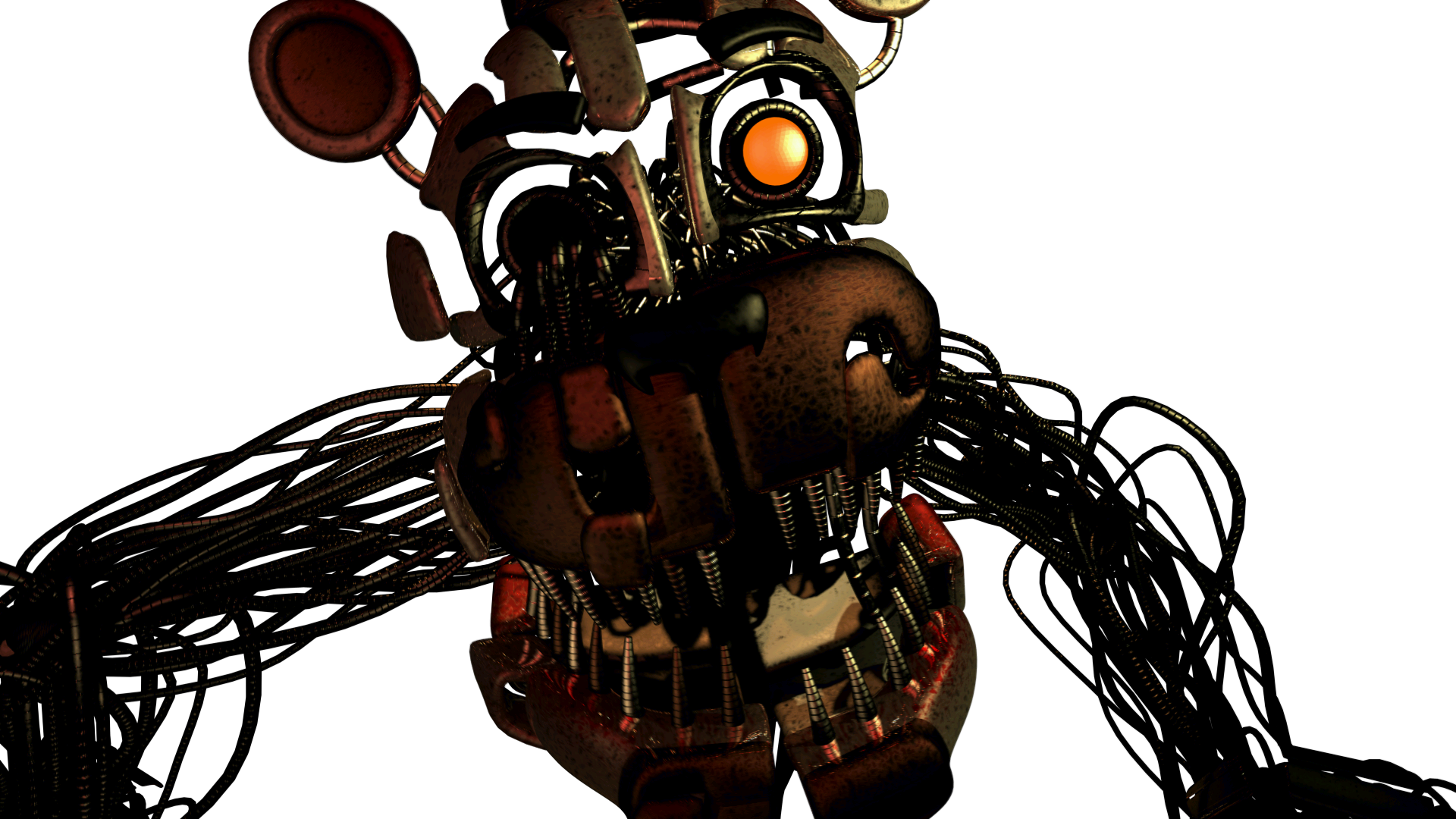 Fnaf 4 freddy png. Image molten sister location