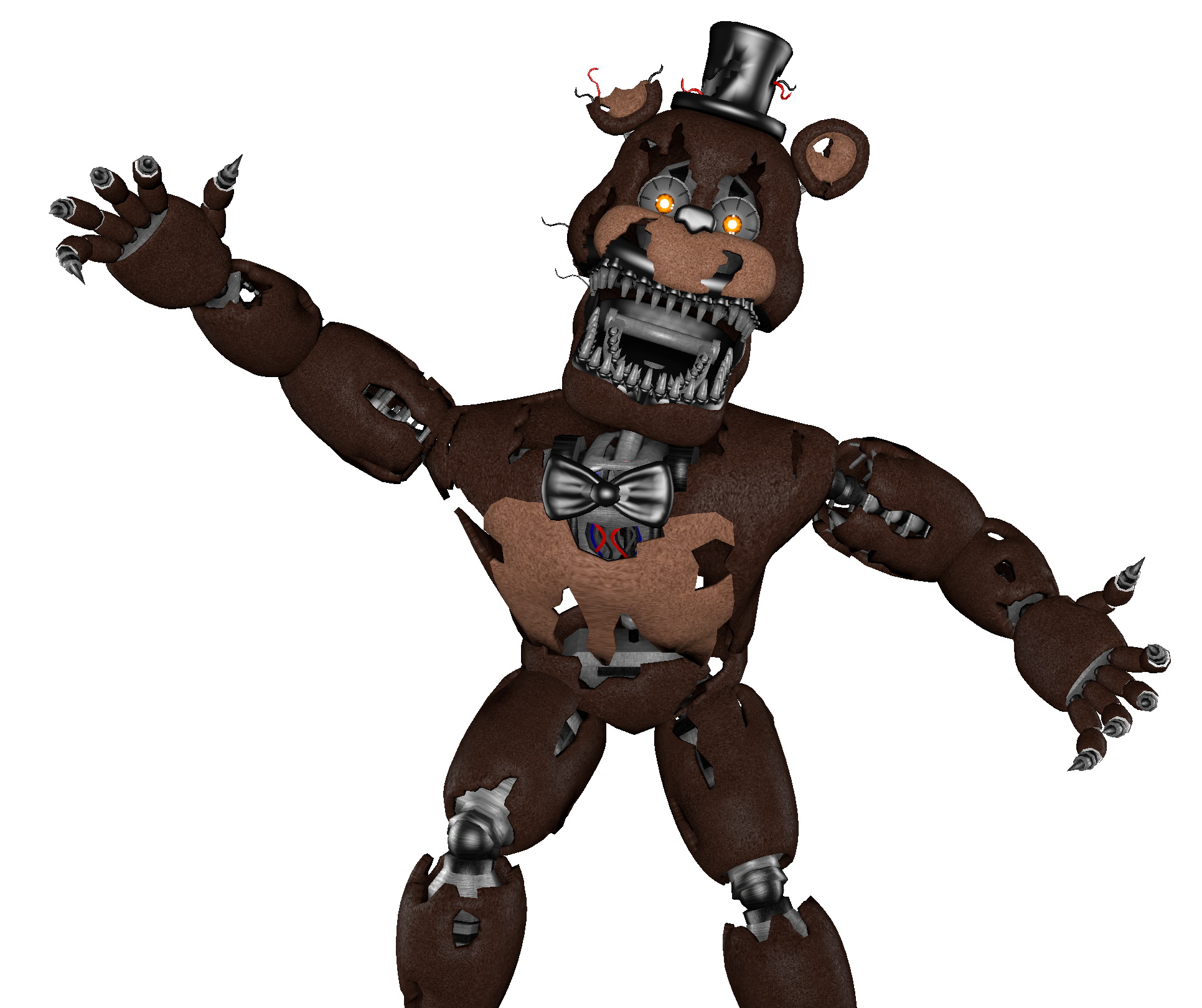 Fnaf 4 freddy png. Nightmare favourites by nataliacaro