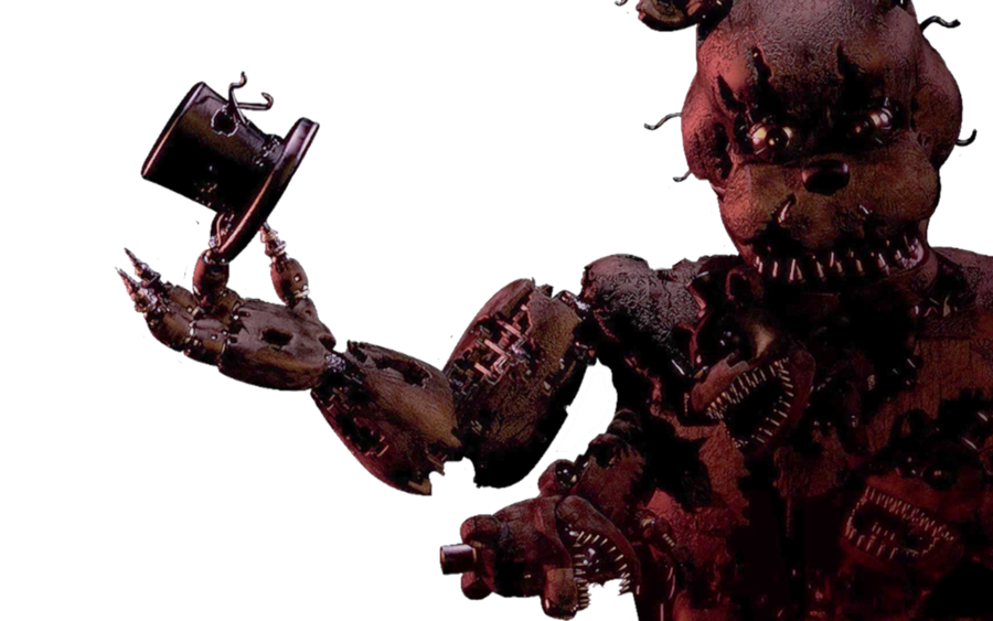 Fnaf 4 png. Nightmare freddy by thesitcixd