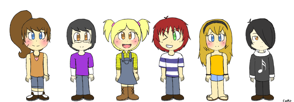 Fnaf ghost child png. Missing children by cookiejo