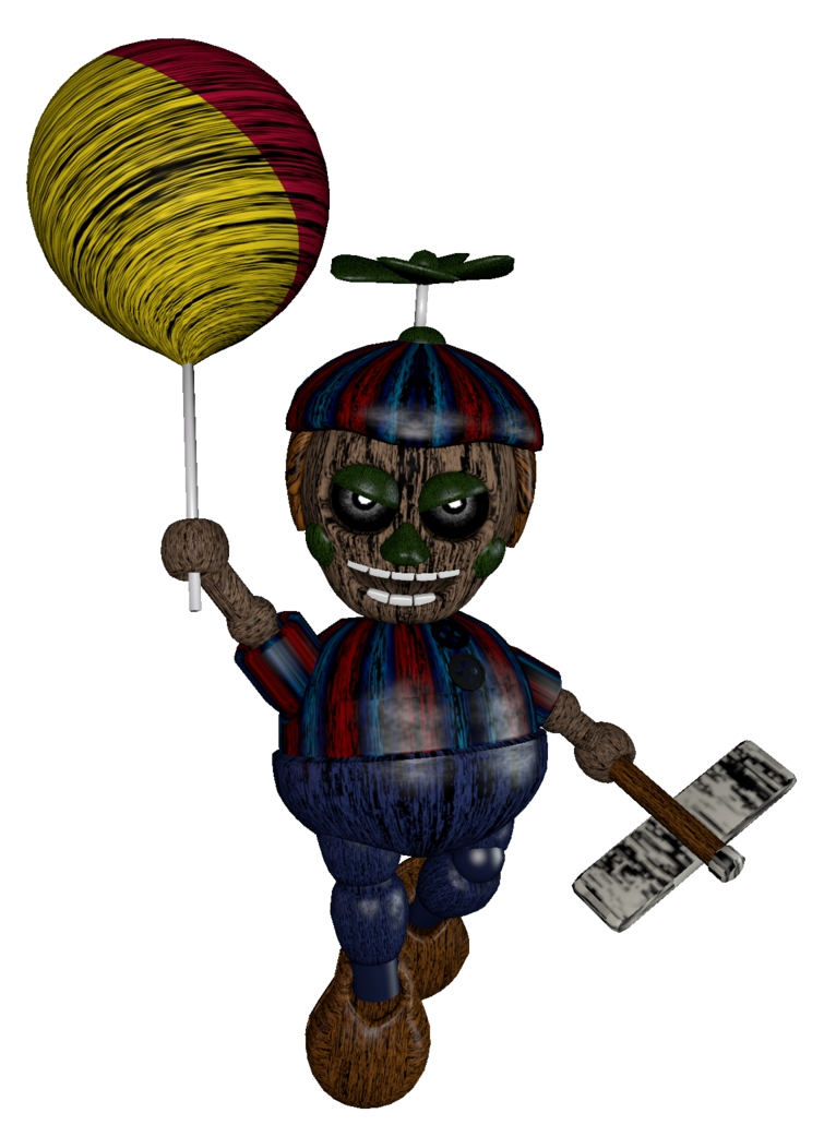 Fnaf ghost child png. Phantom balloon boy render